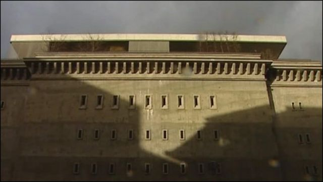 Здание бункера в Берлине