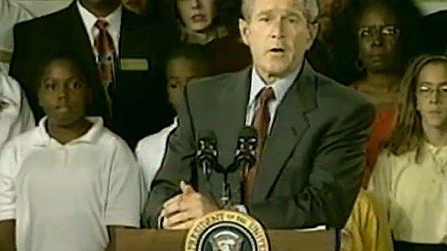 Выступление Джорджа Буша 11 сентября 2001 года