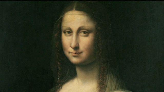 Мона Лиза в Лувре