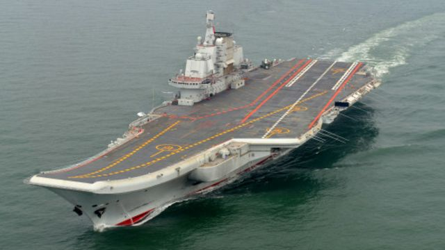 英媒:中國證實在建造第二艘航空母艦
