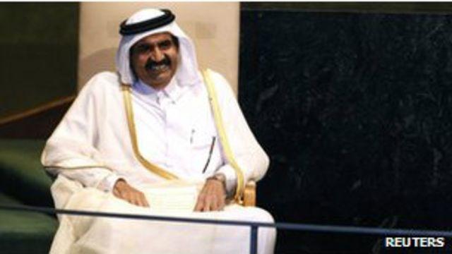 El emir de Qatar cederá el poder a su hijo