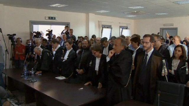 قاعة محكمة في ايطاليا