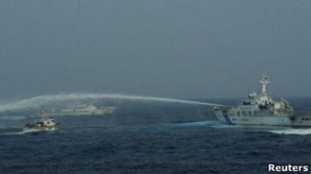 Taiwán envía barcos a islas en disputa