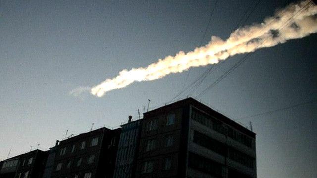 Lluvia de meteoritos en Rusia