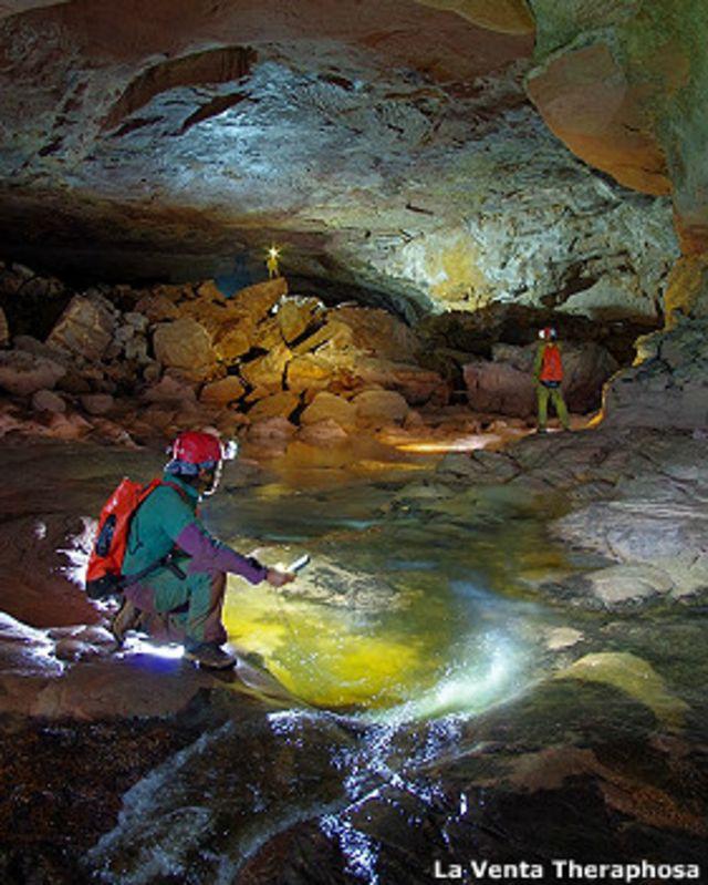 La deslumbrante cueva hallada en Venezuela