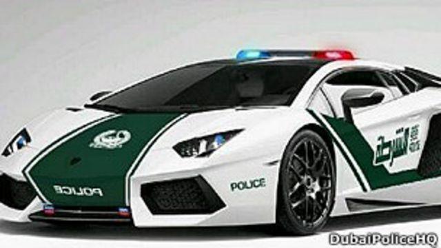 Las nuevas patrullas en Dubái serán Lamborghini