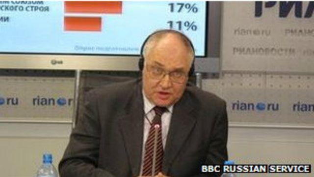 "Encuestadora rusa clasificada como ""agente extranjero"""