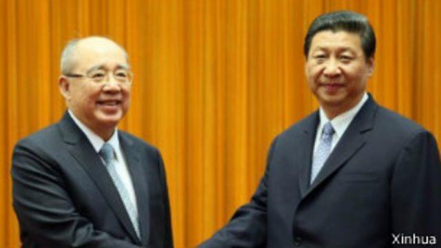 台灣在野黨批判吳習會