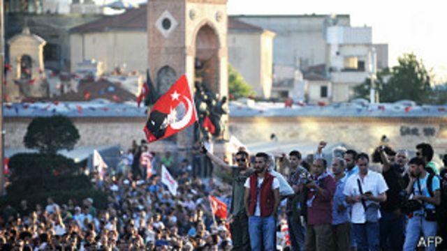 Primer ministro turco vincula protestas en su país con las de Brasil