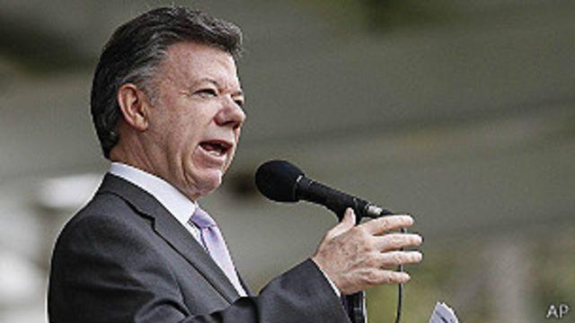 Presidente Santos renueva toda la cúpula militar
