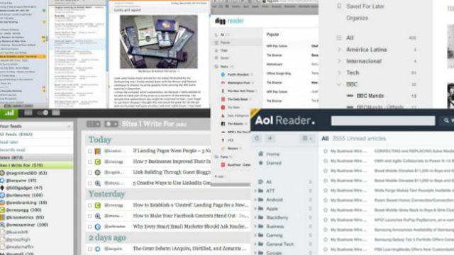 Todos quieren un lector RSS, menos Google