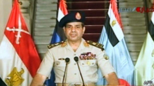 Egipto: Ejército desplaza al presidente Morsi y anuncia elecciones