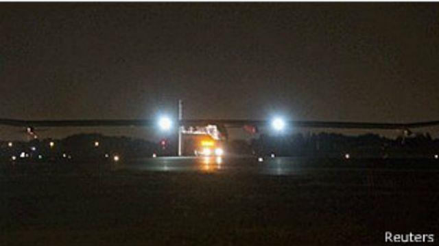 Avión solar finalizó el cruce de Estados Unidos