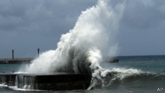 Taiwán se prepara para el tifón Soulik