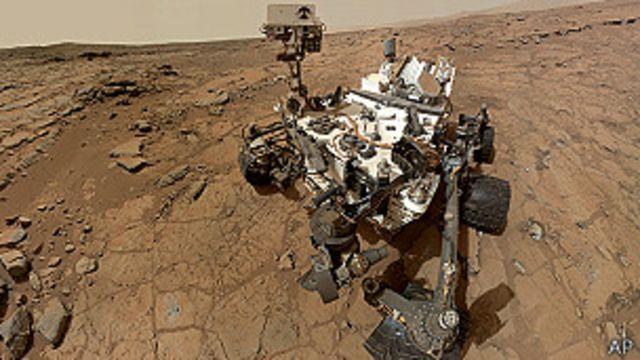 Curiosity halla agua en suelo de Marte