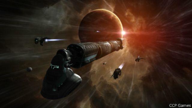 Batalla espacial más grande de la historia deja miles de naves destruidas (en internet)