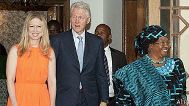 Clinton felicita al gobierno de Ruanda