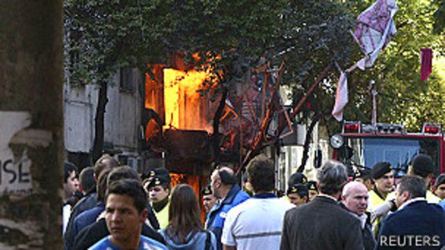 Explosión en Rosario, Argentina, dejó al menos seis muertos