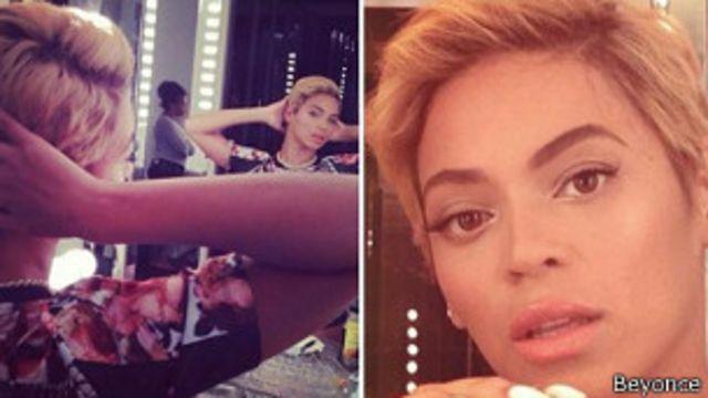 La cantante Beyoncé sorprende con su nuevo corte de pelo