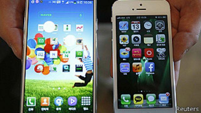 Fallo en guerra de patentes con Samsung favorece a Apple