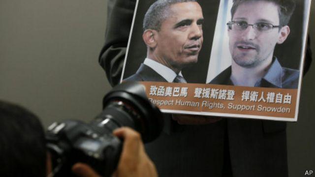 Snowden vuelve a contradecir a Obama en el caso del ciberespionaje