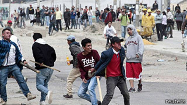 El conflicto del campo irrumpe en Bogotá