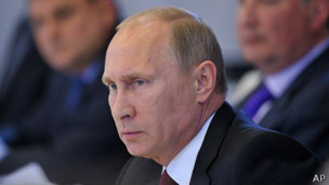 """Siria: Putin llama """"absurdas"""" las acusaciones de EE.UU."""