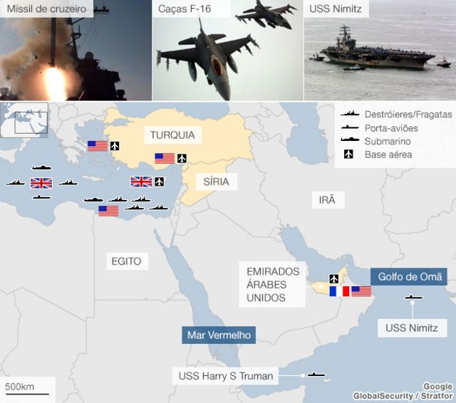 Jihadistas sírios temem ser alvo de ataque dos EUA