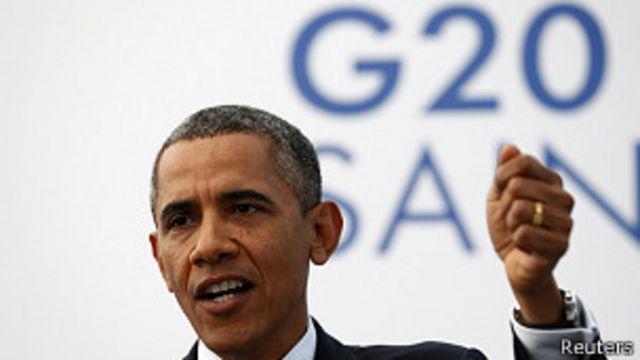 Cumbre G20: Obama insiste en la necesidad de intervenir en Siria