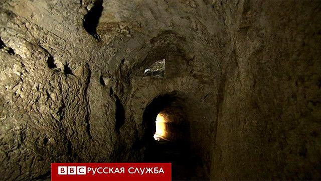 Подземелье дворца Адриана