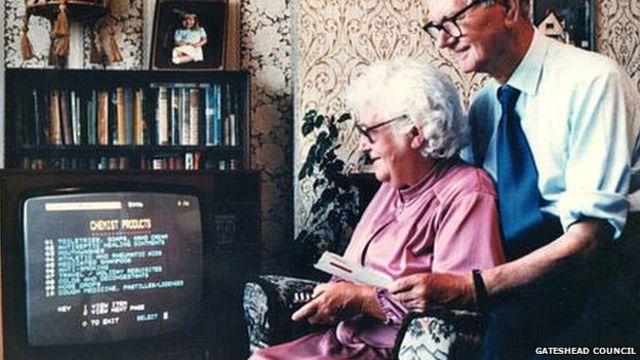 Una abuela de 72 años fue la primera en comprar en línea