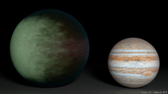 Crean el primer mapa de nubes de un planeta extrasolar