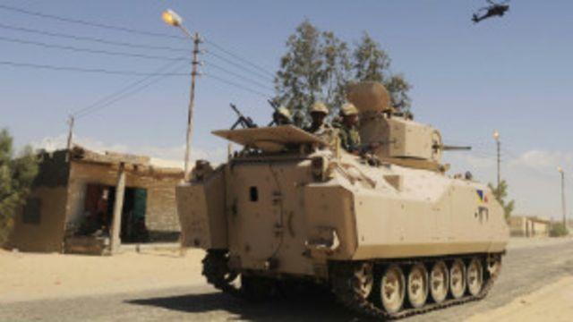 تفجير خط للغاز في وسط سيناء