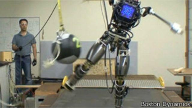 Los robots todoterreno del Pentágono
