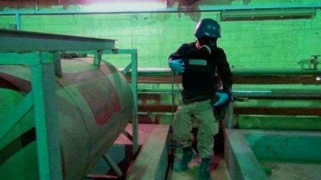 مفتش اسلحة كيماوية في سوريا