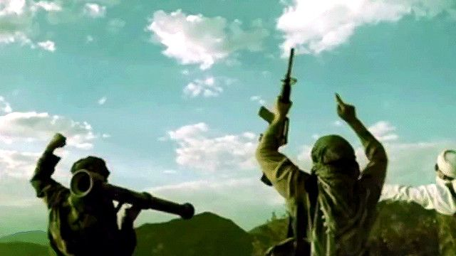 لقطة من فيديو بانكسي