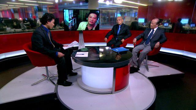 Thảo luận ở studio của BBC về việc tướng Giáp qua đời