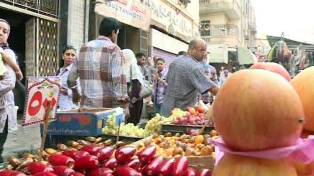 سوق الخضار في مصر