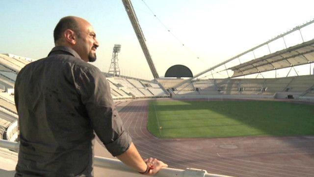 ملعب كرة قدم في قطر