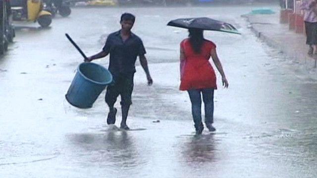 سوء الاحوال الجوية في الهند