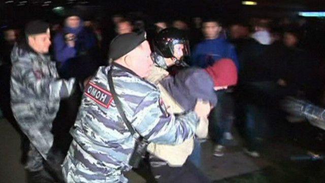 Задержание в Бирюлеве