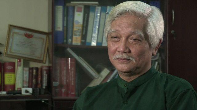 Ông Dương Trung Quốc trả lời phỏng vấn về tướng Giáp
