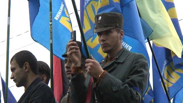 Националисты почтили УПА маршем в Киеве