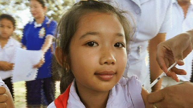 حصين فتاة  ضد فيروس فيروس HPV اوpapilloma
