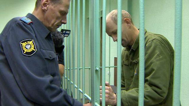 """Активист """"Гринписа"""" Фрэнк Хьюэтсон в суде"""