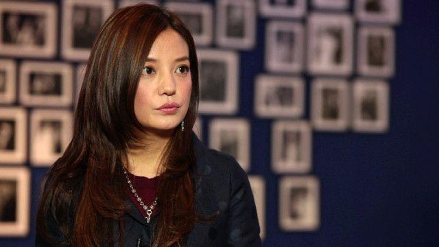 赵薇接受BBC英伦网专访
