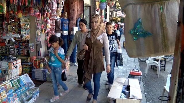 سوق في اللاذقية