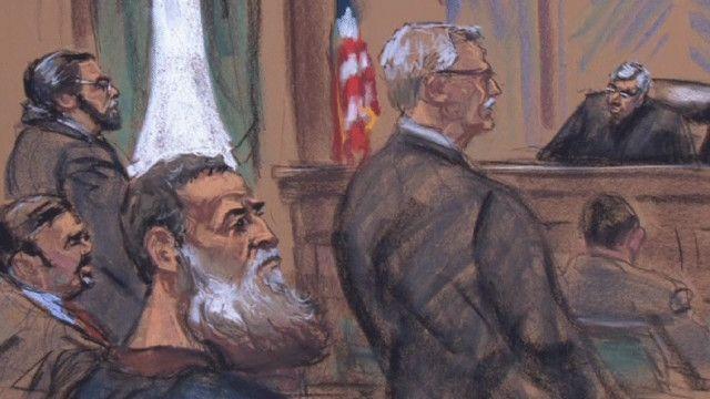 رسم لاجواء المحاكمة
