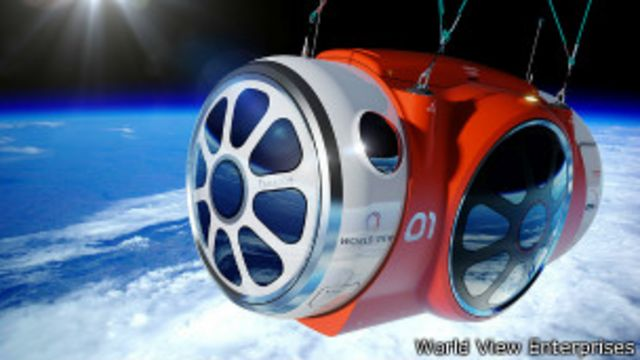 Anuncian viajes para turistas a la estratosfera en globo aerostático