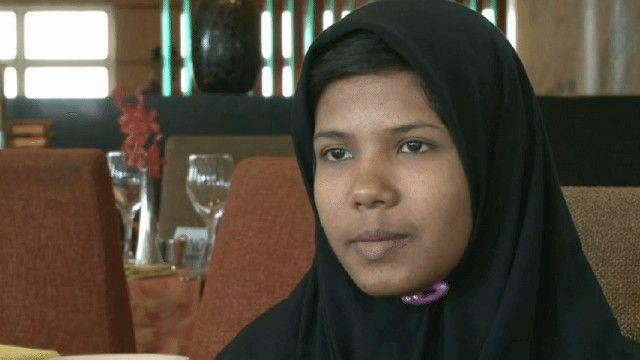 رشمة فتاة من بنغلادش